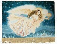 Tapestry Wall Hanging Guiding Angel Tapestry Dona Gelsinger Finished Hang Ready