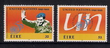 Ireland Eire mint stamps - 1995 50th Anniv of the United Nations, SG976/977, MNH