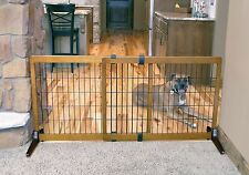 """Carlson Freestanding 28"""" Tall EXTRA WIDE Pet Gate 2870 for dog"""