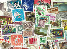 "50+ ""LARGE"" OLD ""WORLD "" STAMPS - NO PAPER BACKINGS - #4"