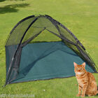 NEW Large Outdoor Mosquito Habitat Cat Dog Pet Play House portable exercise Tent