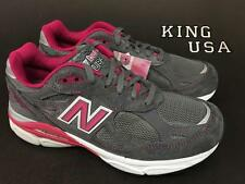 Women's New Balance W990v3 Running Shoes W990KM3 Grey Pink Size 7 D-Wide