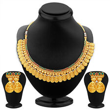 Sukkhi Sublime Gold Plated Temple Jewellery Necklace Set(2310NGDLPP1610)