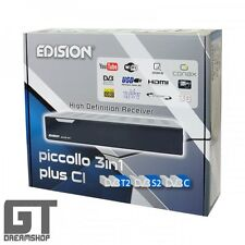 Edision piccollo 3in1 plus ci HD receiver HDTV dvb-s2/t2/c IPTV USB