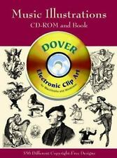 Music Illustrations (Dover Electronic Clip Art) (CD-ROM and Book)