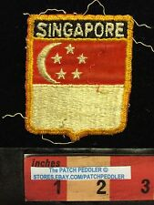 SINGAPORE PATCH ~ Crescent Moon And Stars 5OU5