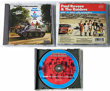Paul Revere & The Raiders - Hard´N´Heavy . 2000  CD TOP