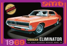 AMT 1969 Mercury Cougar Eliminator model kit 1/25