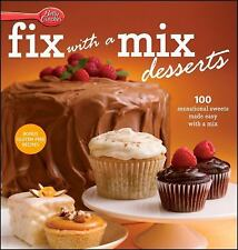 Betty Crocker Fix-with-a-Mix Desserts, Betty Crocker, New Books