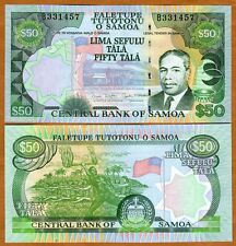 Western Samoa, 50 Tala, (2005 2006) P-36, UNC   man dancing with fire