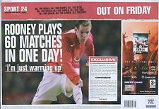 "Fifa 06 ""Out On Friday"" 2005 Magazine Double Page Advert #4849"