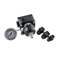 New Black high pressure fuel regulator w/ boost -8AN 8/8/6 Pressure Regulator