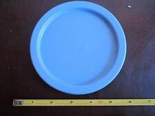 Vintage Tupperware replacement lid one touch canister seal 2423 A light Blue
