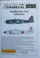 Xtradecal 1/48 X48175 Hawker Sea Fury Decal set