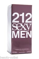 Carolina Herrera 212 SEXY MEN EDT 100ml 3.4oz Eau de Toilette Hombres Homens Man