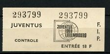 Netherlands 1969 Juventus Stamp Exhibition Ticket #A39798