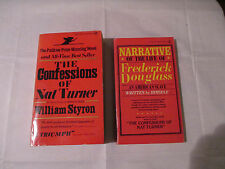 Books The Confession Of Nat Turner & Narrative Of The Life of Frederick Douglass