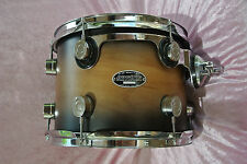 """ADD this 12"""" PDP by DW NATURAL TO CHARCOAL BURST FS TOM to YOUR DRUM SET! T963"""
