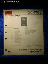 Sony Service Manual SRF M903 (#2241)