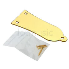Gold Metal Truss Rod Cover fit for Epiphone Les Paul SG Guitar Replacement+Screw