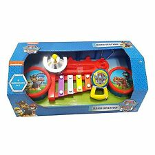 Paw Patrol Toy Band Station Musical Instrument 6 Instruments In 1 Drums Etc NEW