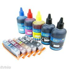 Refillable Cartridge KIT For Canon PIXMA iP7220 MX722 MX922 MG5622 CISS