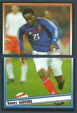 PANINI SUPERFOOT 2004-05- #052/053-FRANCE-SIDNEY GOVOU