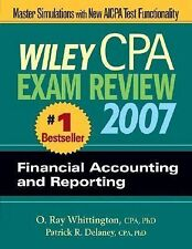Wiley CPA Exam Review 2007 Financial Accounting and Reporting (Wiley Cpa Examina