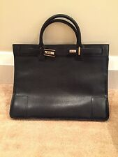 Gucci Womens Black Leather Briefcase Bag