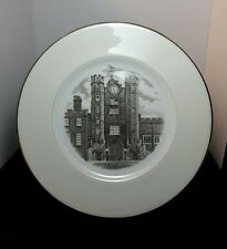 """Wedgwood Old London Views Westminster Abbey Canadian 1st Edition 10.5"""" Rare."""