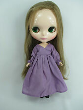 Blythe Outfit Handcrafted nightgown pajamas dress basaak doll purple 955-15