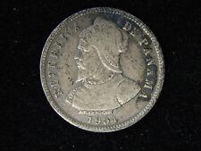 1904 Panama 10 Centesimos - Silver