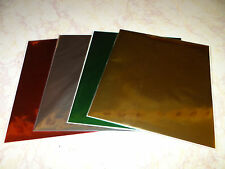 FOIL SHEETS FOR SCRAPBOOKING CARD MAKING MINC MACHINE CHRISTMAS