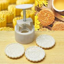 163g Mooncake DIY Mold Baking Tool Pastry Concave Flower Stamp Mould Homemade