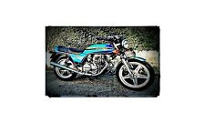 1980 cb250 super dream Bike Motorcycle A4 Photo Poster