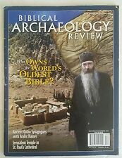 Biblical Archaeology Review Nov Dec 2007 Who Owns World's Oldest Bible history