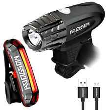 HODGSON Both USB Rechargeable Bike Light - Super Bright 315 Lumens Front Ligh...