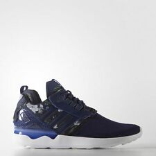 New $160 Adidas Men's ZX 8000 Boost Shoes Size 8 US Bold Blue B24959