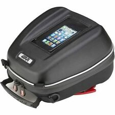GIVI 3D603 MOTORCYCLE TANK LOCK BAG 4L SMART PHONE HOLDER & FITTING PLATE BF04