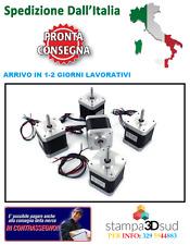 KIT DI 5 MOTORI NEMA 17 PER STAMPANTE 3D REPRAP CNC 3D PRINTER 5 MOTORS' KIT