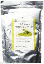 Japan C C- Nature Matcha Green Tea Powder 16 oz bag of loose tea -USDA ORGANIC