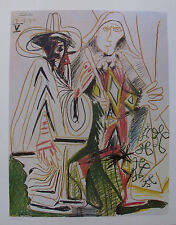 Pablo Picasso BIRTHDAY 1972 Plate Signed Limited Edition Lithograph