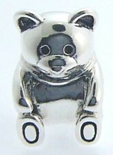 2010-3082  CHAMILIA STERLING SILVER TEDDY BEAR CHARM NEW WITH POUCH