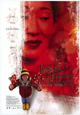LONG LIFE, HAPPINESS & PROSPERITY Movie POSTER 27x40 Sandra Oh Valerie Tian Ric