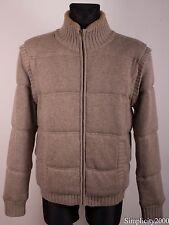 UGG AUSTRALIA Men Wool Cashmere Detachable Arms Jacket Size L