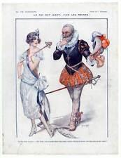 """Art DECO-théâtre-de """"la vie parisienne"""" 1922 après C. Hérouard"""