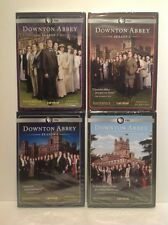 Masterpiece Classic: Downton Abbey Complete Season 1-4 1, 2, 3, 4 DVD Brand New