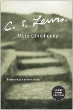 Mere Christianity by C. S. Lewis (2003, Paperback, Large Type)