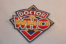 Doctor Who Embroidered Patch