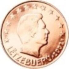 LUXEMBOURG 2004 - pièces de 1 cts +  2 Cts +  5 cts pièces neuves de rouleau